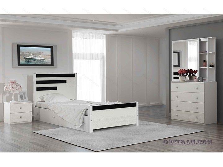 تخت خواب یک نفره رادو