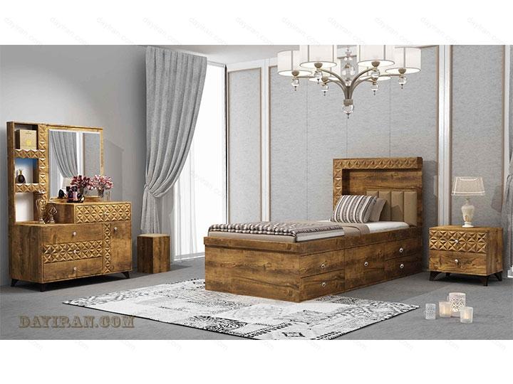 تخت خواب یک نفره پارما
