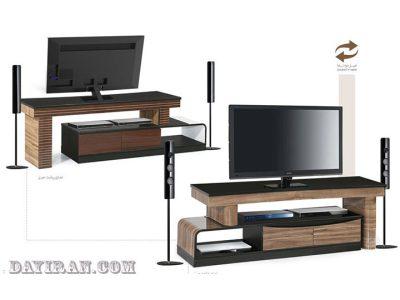 میز تلویزیون هایگلاس دونما