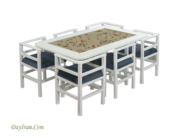 میز ناهار خوری اطلس ۳