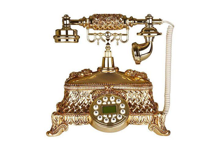 تلفن سلطنتی ۰۳۲AC طلایی
