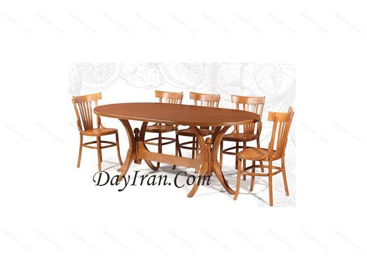 میز ناهار خوری لاله
