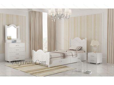 تخت خواب یک نفره عروس 2