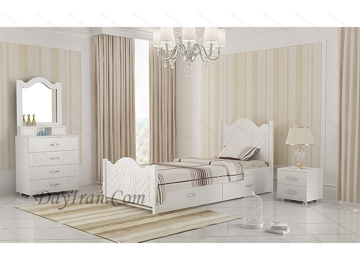 تخت خواب یک نفره عروس ۲