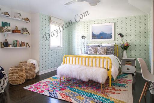 تزیین و دیزاین دکوراسیون اتاق خواب دخترانه