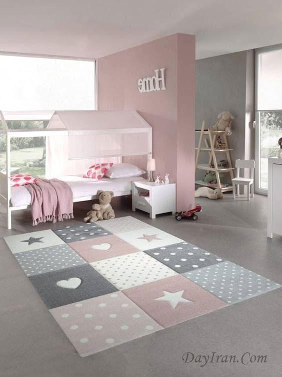 فرش اتاق خواب نوجوان