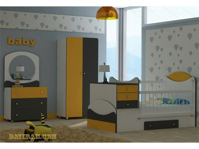تخت خواب نوزاد آنجل2