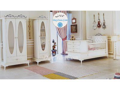 تخت خواب نوزاد آنجل