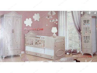 تخت خواب نوزاد آرشیدا