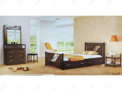 تخت خواب نوجوان کلاسیک