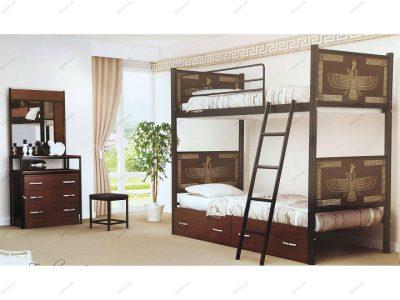 تخت خواب دو طبقه فروهر