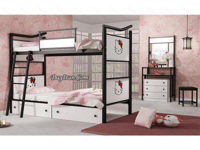 تخت خواب دو طبقه کیتی