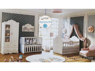 تخت خواب نوزاد لاکچری