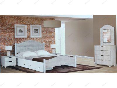 تخت خواب دو نفره نرگس