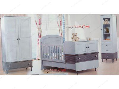 تخت خواب نوزاد نسیم