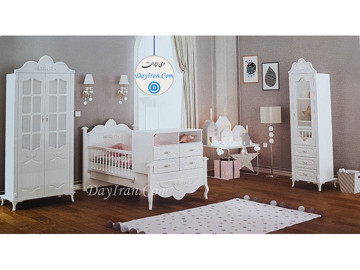 تخت خواب نوزاد پارسا