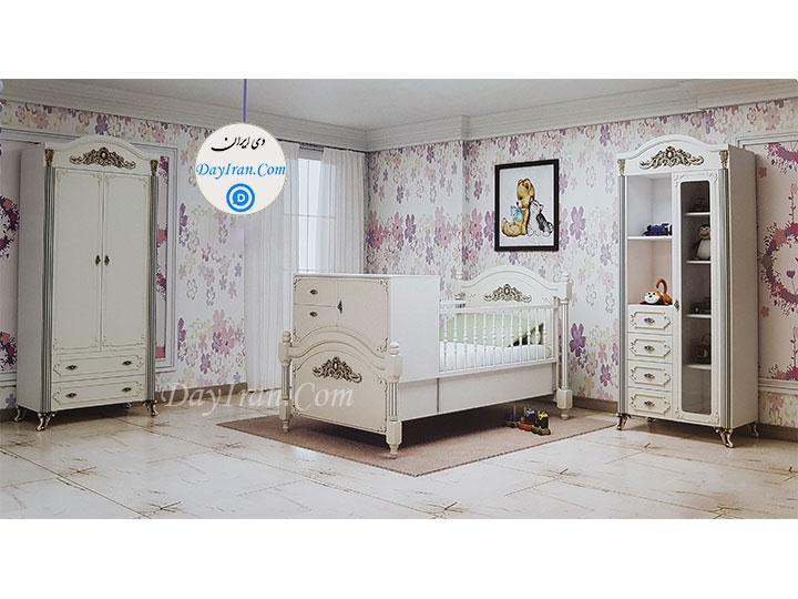 تخت خواب نوزاد پاسارگاد