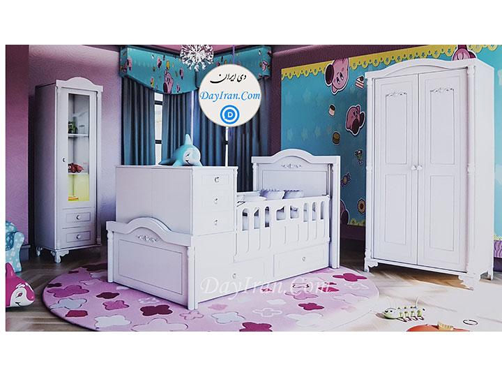 تخت خواب نوزاد پرسپولیس