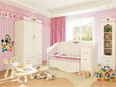 تخت خواب نوزاد پرنسس