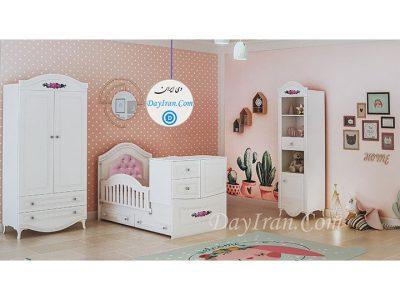 تخت خواب نوزاد روژان
