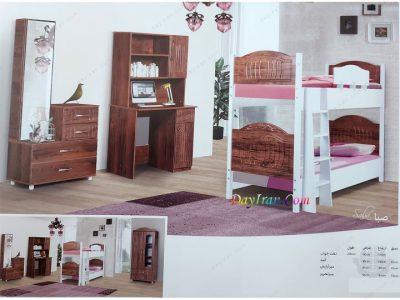 تخت خواب دو طبقه صبا