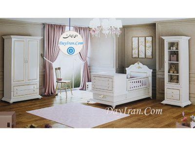 تخت خواب نوزاد صدف