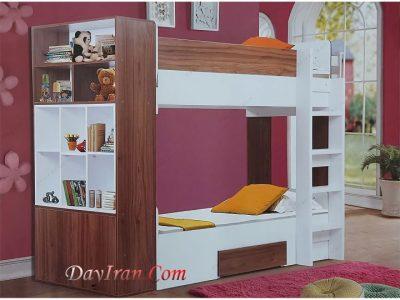 تخت خواب دو طبقه شاهین