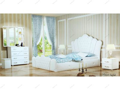 تخت خواب دو نفره شاینا