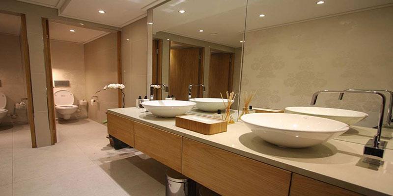 نورپردازی سرویس بهداشتی و حمام