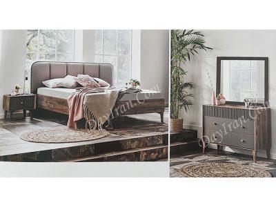 تخت خواب دو نفره کاژور