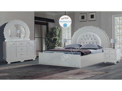 تخت خواب دو نفره عروس رویان