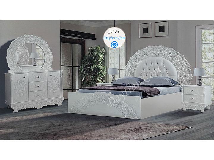 تخت خواب دو نفره رویان