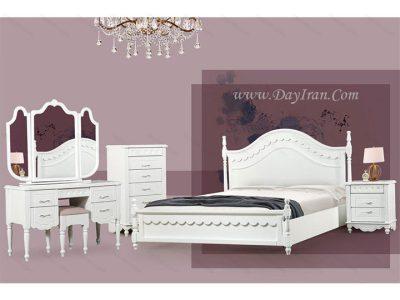 تخت خواب دو نفره تیفانی