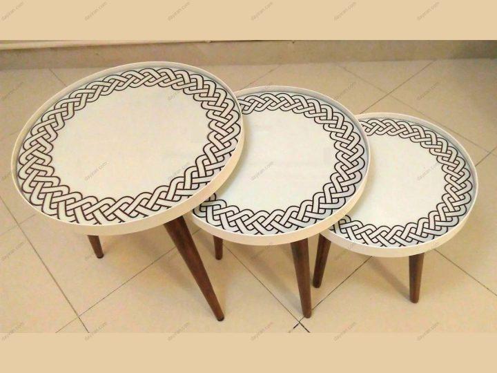 میز عسلی گرد 1