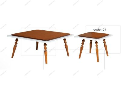 میز جلو مبلی عسلی 24
