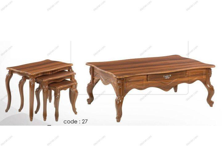 میز جلو مبلی عسلی 27