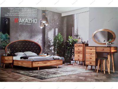 تخت خواب دو نفره آکاژو